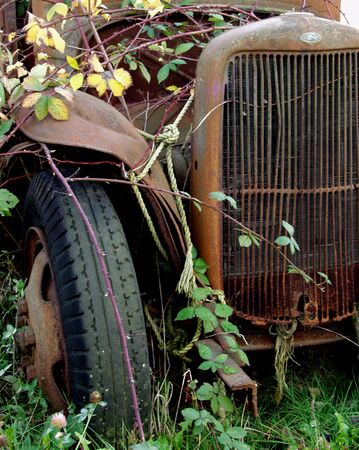 junked: Old Truck      Stock Photo