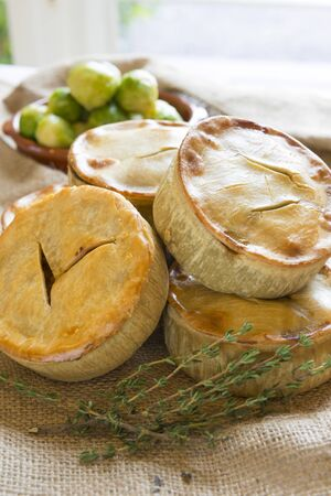 Meat pies.