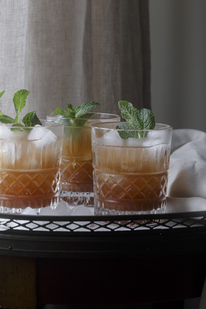 non alcoholic: Grapes Mocktail non-alcoholic drink