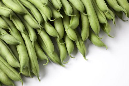 green beans:  Jud�as verdes o alubias Foto de archivo