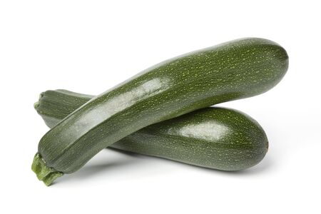 courgettes: Two fresh courgettes
