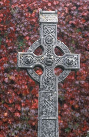 Ireland, Celtic cross photo