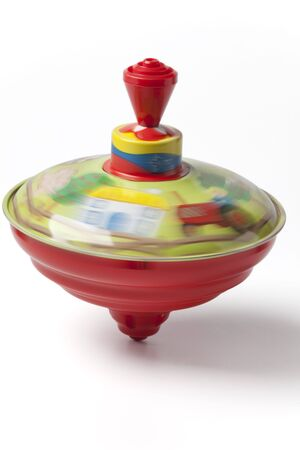 spinning:  Humming or spinning top Stock Photo
