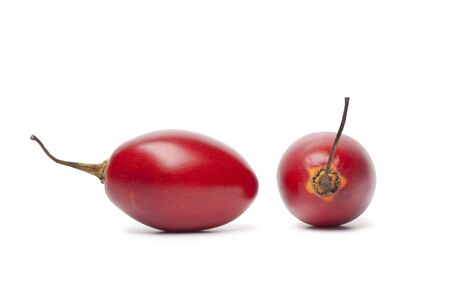 tamarillo: Tamarillo on white background Stock Photo