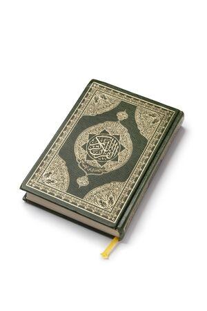 Koran book isolated on white background Stock Photo - 9400552