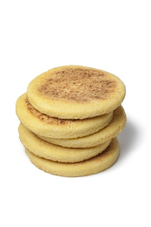 cornbread:  Moroccan Harcha, Semolina Pan-Fried Flatbread