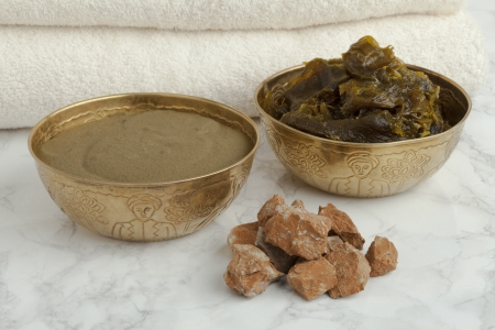 Ghassoul, savon Beldi and Henna in the Hammam