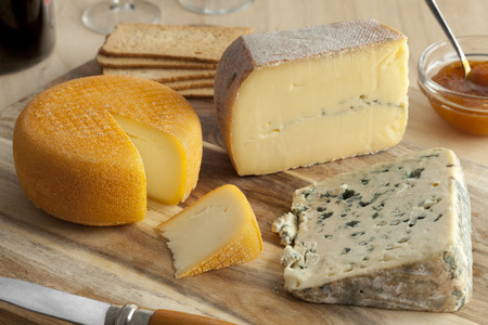 cheese platter: French cheese platter for dessert