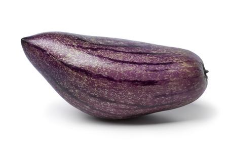 pepino: Single fresh pepino fruit on white background