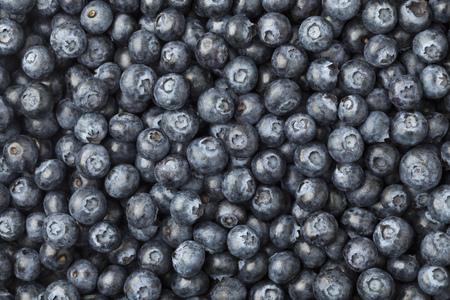 heathy: Blue berries full frame close up