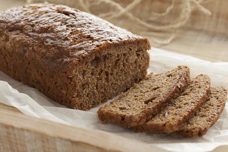 gingerbread cake: Traditional homemade gingerbread cake