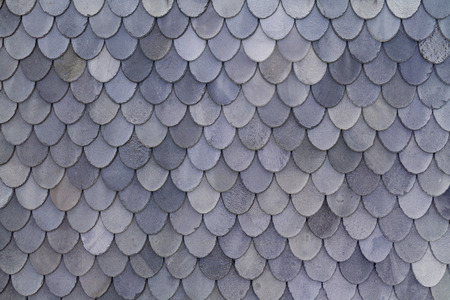 norwegian: Norwegian grey slate roof shingles