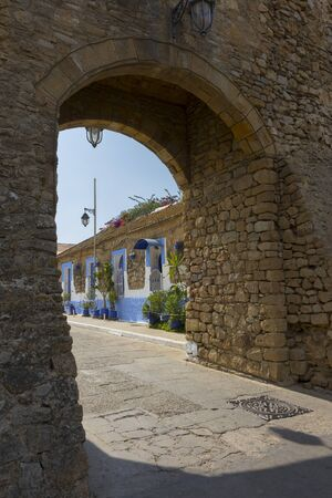 Gateway to the ancient medina of Asilah, north of Morocco