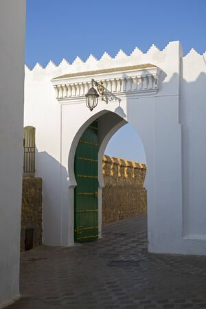 Gateway to the ancient medina of Asilah, Nothern Morocco