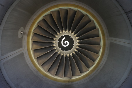 are thrust: Turbine engine inlet