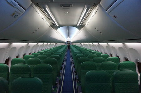 interiour: Cabin interiour 737