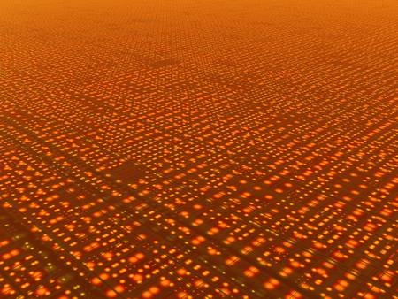 Abstract rendering of a grid or network or the internet, works great as background image. Stock Photo - 906462