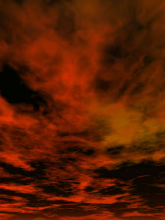 dramatic clouds: background image of dramatic computer generated clouds