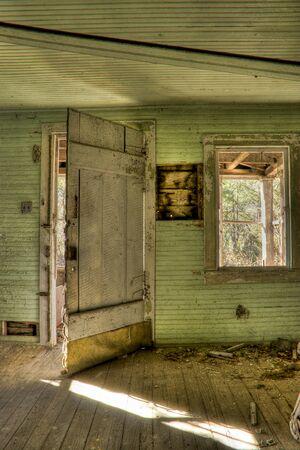 Interior shot of Abandoned House Stock Photo - 4556851