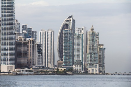 Panama City Skyline, seen from Casco Viejo