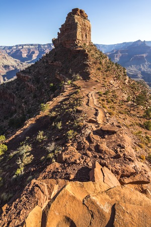 kaibab trail: Grand Canyon Landscape Overview on South Kaibab Trail