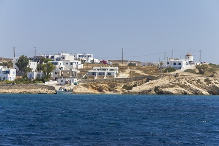 cyclades: Coastal village on the small cyclades, Greece