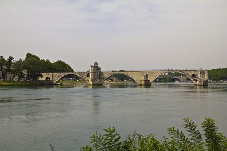 du: View on Pont du gard in Avigon, France