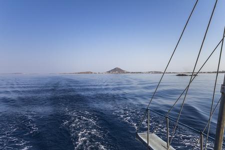 naxos: Sailing the cyclades on and around Naxos, Greece