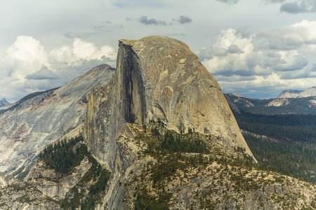 dome of the rock: View on half dome rock in Yosemite at the top, California