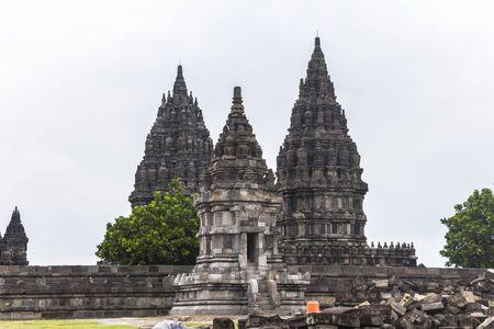 prambanan: View on Prambanan temple at Yogykarta, Indonesia