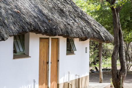 Typical rest camp of Kruger Park, South Africa