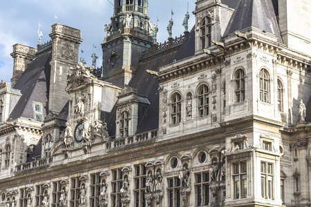 Town hall architecture of Paris