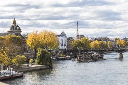 View on Seine river in Paris
