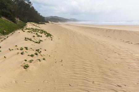 Cape of St. Lucia wetlands park, beautiful beach