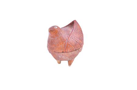 crafting: artesan�a de madera vieja en la forma de p�jaro