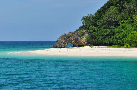 southern of thailand: Kai island in Andaman sea, southern Thailand Stock Photo