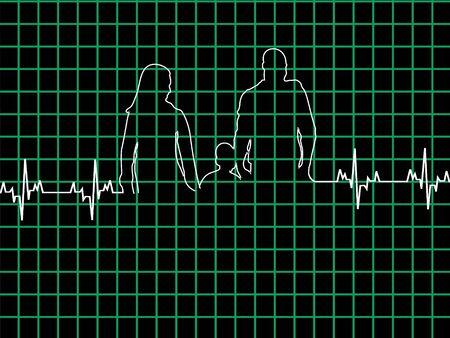 lifeline: healthy family in lifeline on graph
