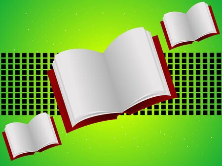 open books on abstract background   photo