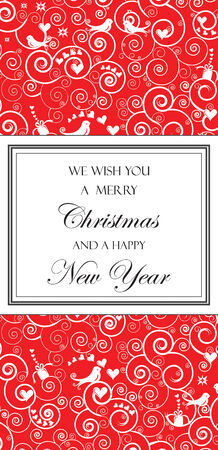 Christmas and New Years Card