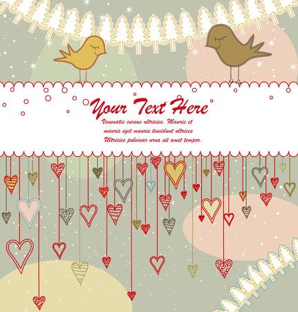 Greeting Card or Invitation Illustration