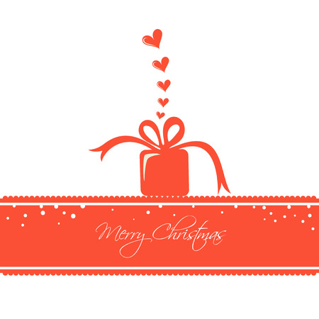 Christmas Card with a Loving Gift