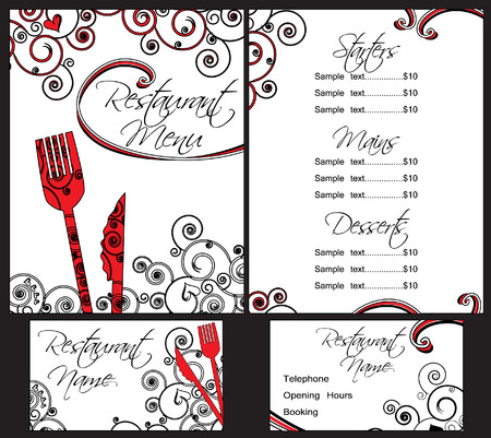 Menu Templates Stock Vector - 6129135