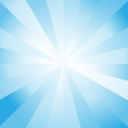 Blue Color Burst
