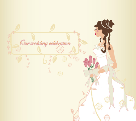 Wedding Invitation or Photo Album Cover