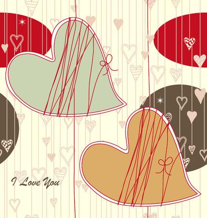 Valentine Seamless Pattern Illustration