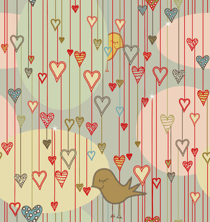 Valentine Seamless Pattern Stock Vector - 6226112