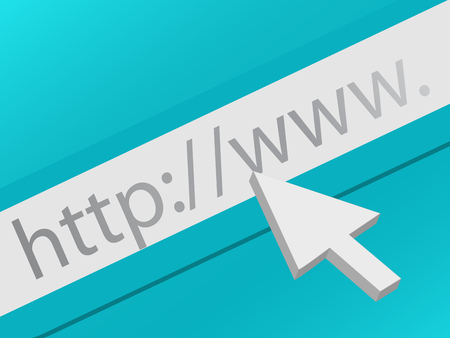 surfing the net: Surf the Web Illustration