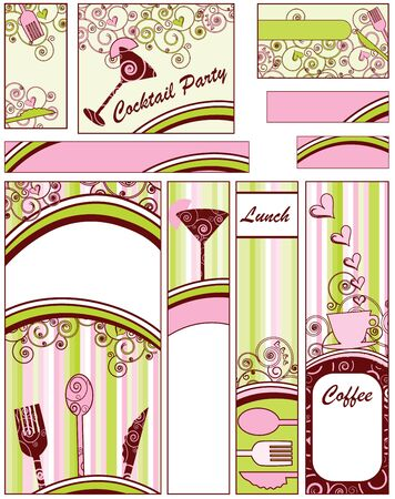 Food and Drink Banners