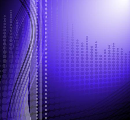 Modern background in a futuristic style.