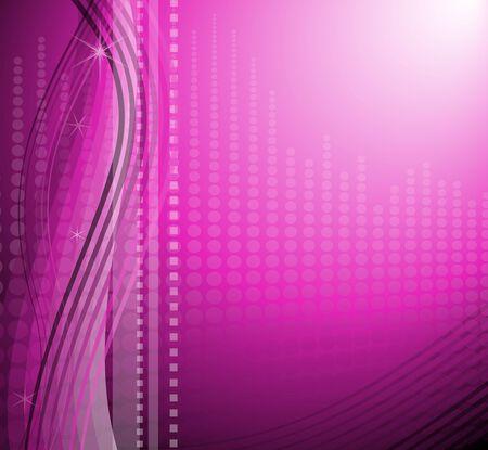 Sparkling modern purple background. Illustration